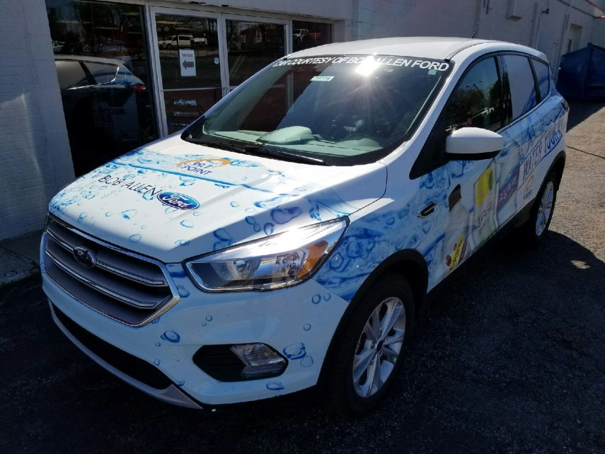 vehicle wraps by xtreme truck and auto pepsi wrap 1