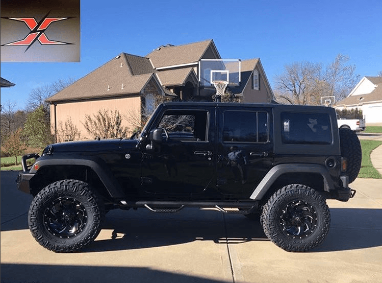 Another jeep build completed!!! This one features a readylift suspension. 4