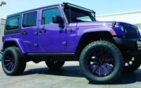 Added some amazing custom painted XD Heist wheels to this jeep, 35x12.50x20 Nitto Terra Grapplers, 4 ReadyLift Kit and 50 light bar-