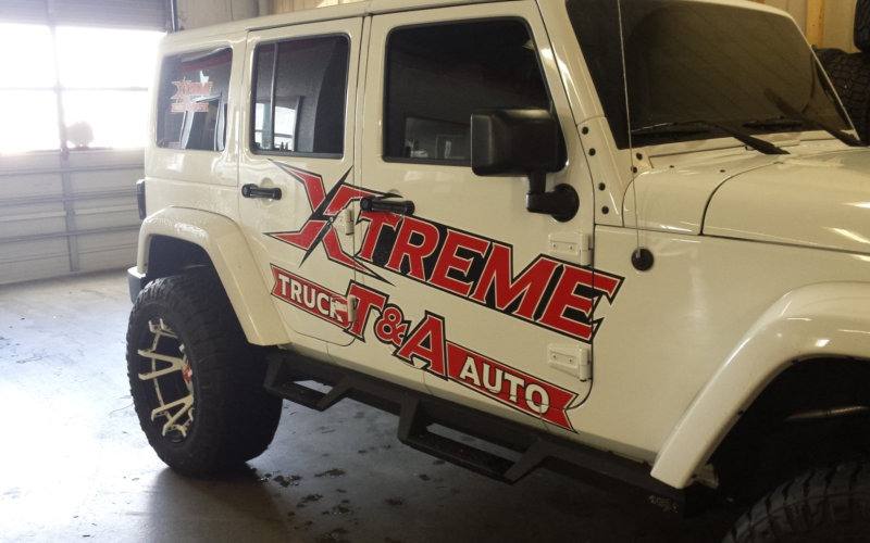 Jeep Vehicle Wrap 2