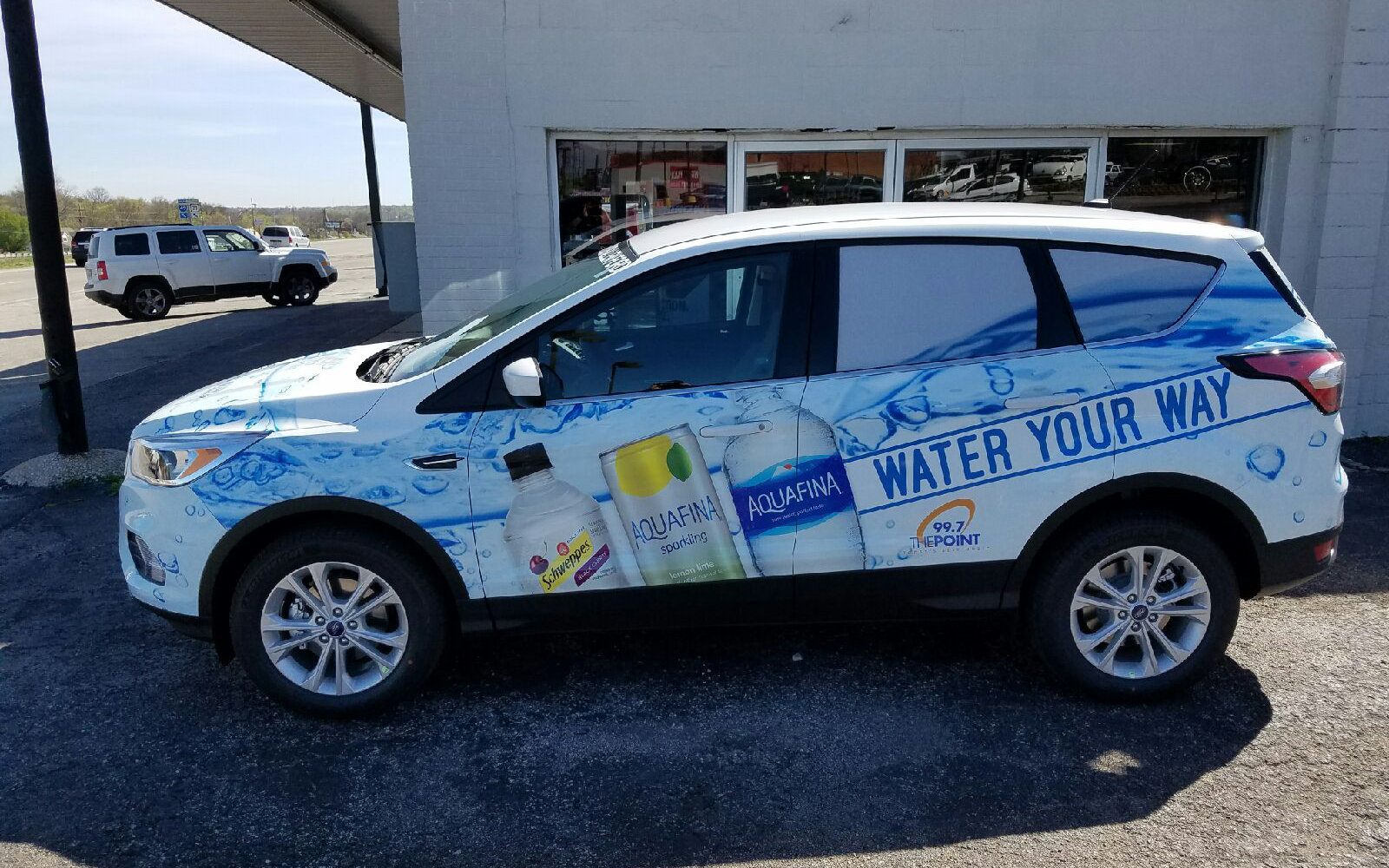 Vehicle Wrap Pepsi 2