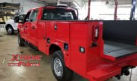 Rhino Lined Service Body Truck Bed