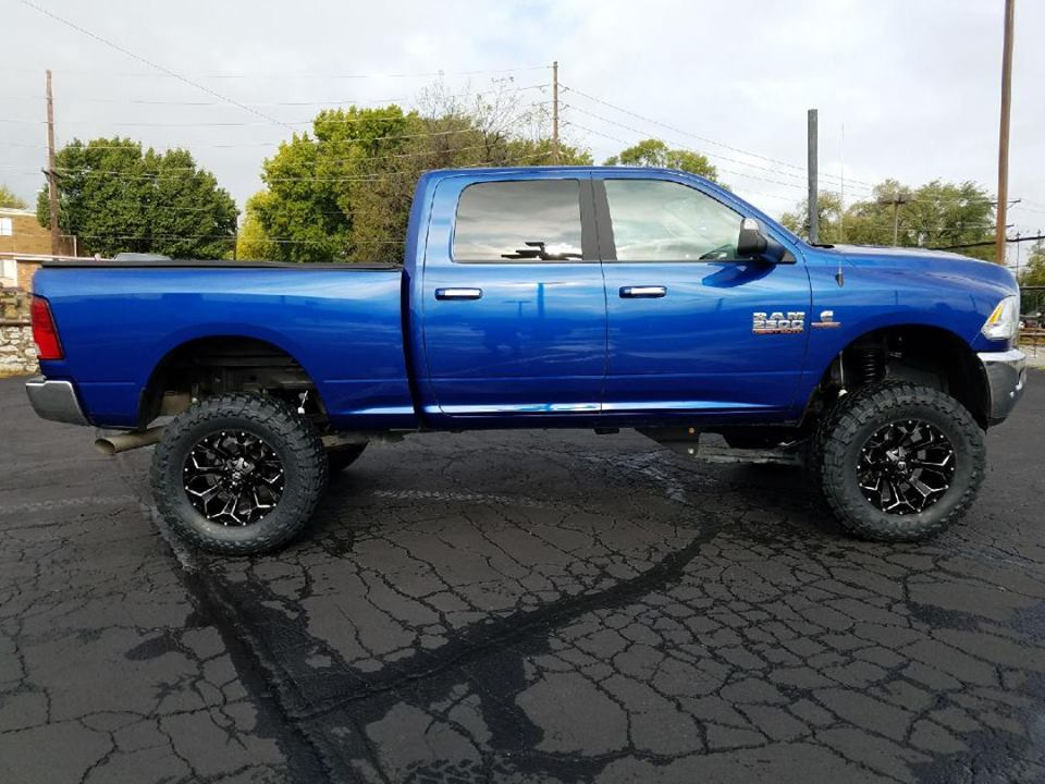Ram 2500 with a 6.5 lift kit