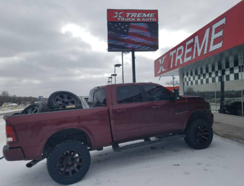 2017 Ram 2500 with a 3″ SST lift