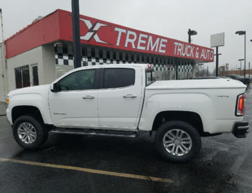 2018 GMC Canyon with 4″ lift